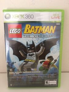 NEW-XBOX-360-Lego-Batman-and-Pure-Video-Game