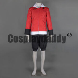 Pokemon-HeartGold-and-SoulSilver-Ethan-Hibiki-Outfit-Game-Cosplay-Costume-F006