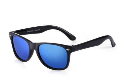 Miuno® Kinder Sonnenbrille Polarisiert Polarized Wayfare Etui 6833 verspiegelt