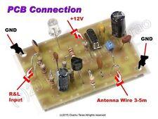 DIY 11.7MHz DC12V AM Transmitter PCB Parts Set