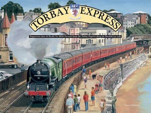 og Torbay Express small steel sign  200mm x 150mm