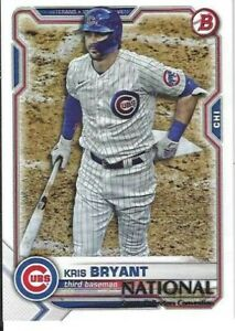 Kris Bryant Chicago Cubs  2021 Panini National Convention Baseball Card