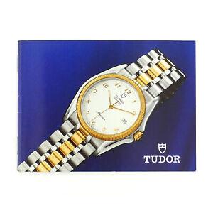 TUDOR-VINTAGE-WATCH-COLLECTION-BOOKLET-ENGLISH-VERSION-582-06-USA-25-6-1992