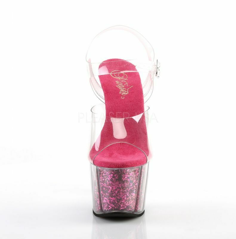 Pleaser High-Heels Plateau Sandaletten ADORE-708G pink Gogo Tabledance Poledance High-Heels Pleaser 516ee7