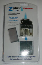 Z-PLUS 2.0 EXTREME Butane Torch Twin Flame Insert for petrol fuel/fluid lighters