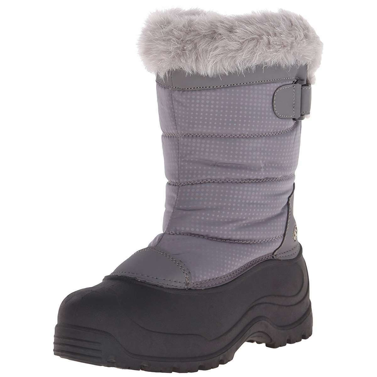 damen Snow Stiefel Insulated Winter Stiefel grau -25F Northside Saint Helens NEW