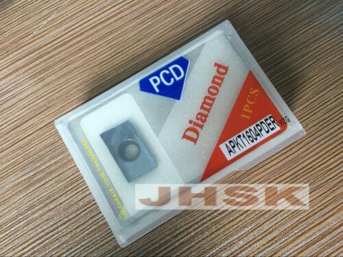 2pcs APMT1604 PDFR  PCD30  Used for Aluminum  APKT1604PDER PCD PCD