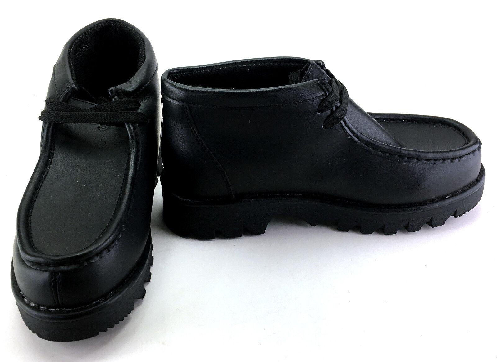 Lugz Boots Strutt Lo Classic Leather Black Shoes Size 6.5
