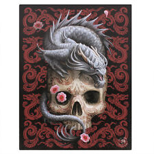 Anne Stokes Canvas Oriental Dragon - 19 x 25 cm - fairy - unicorn - gothic