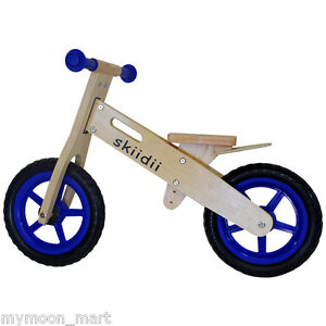 CHILDREN-KIDS-WOODEN-BIKE-BICYCLE-BALANCE-PUSH-BIKE