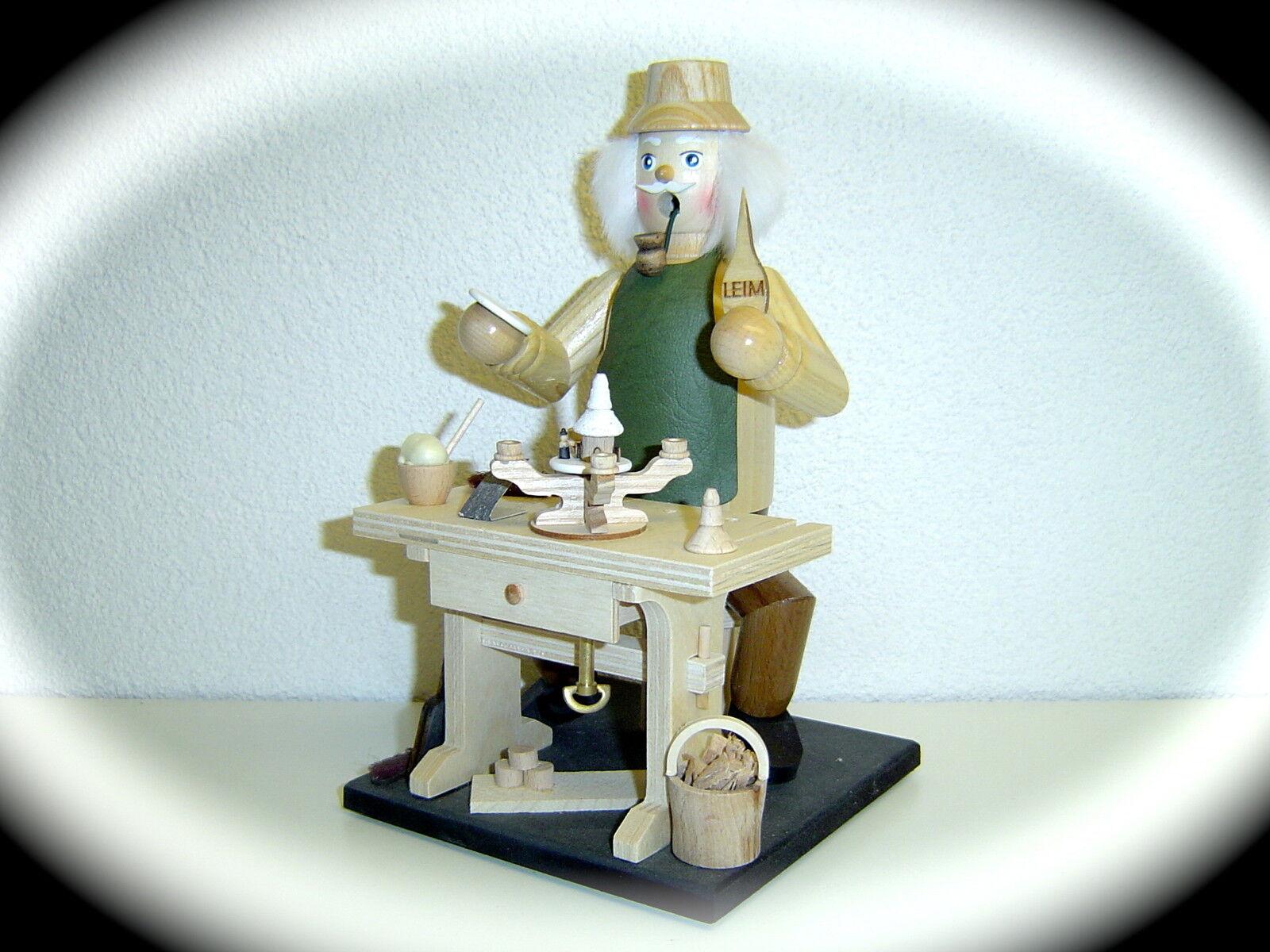 Original Erzgebirge Räuchermann mit Spieldose Adventsleuchter Adventsleuchter Adventsleuchter mit Kerzen 15022 040441