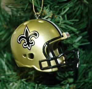 New Orleans Saints Christmas Ornaments.Details About New Orleans Saints Football Helmet Christmas Ornament