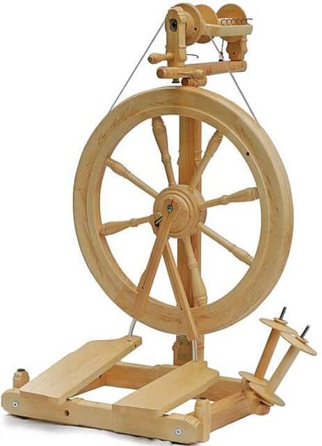 Kromski Sonata Unfinished Spinning Wheel FREE Shipping Special Bonus