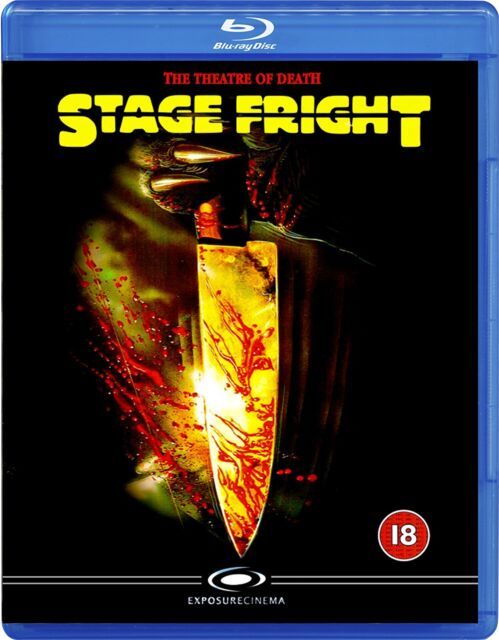 Stage Fright   (1987)    Dual Format    New!  Horror