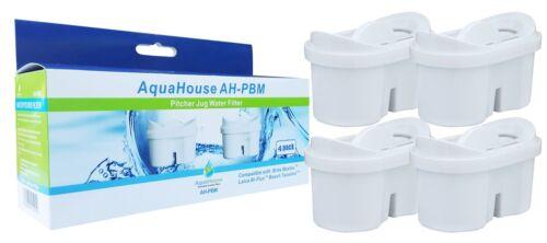 4 aquahouse Cartuccia Filtro Acqua Compatibili per Brita maxfor DUOMAX Wilko CARAFFE