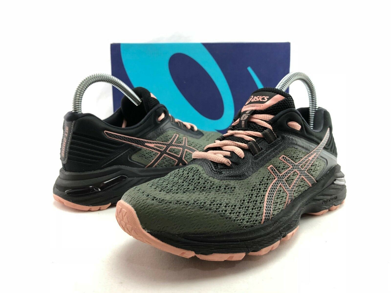 ASICS Negro 10 gt-2018 6 Mujer Negro ASICS Verde Rosa Athletic running Zapatos US 8 C 316 Wild Casual Shoes 3dac08