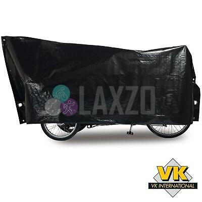 Bike Waterproof Bicycle Cover Black Vk Cargo 120 X 295cm Strong Woven Cover Reines Und Mildes Aroma