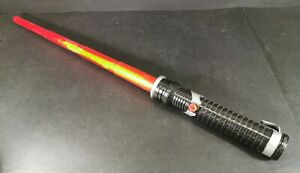 Star-Wars-Red-Lightsaber-Spring-Loaded-1999-Hasbro-Non-Electronic-Retractable