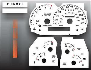 1995-Ford-Explorer-Ranger-Tach-Dash-Instrument-Cluster-White-Face-Gauges