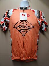 CASTELLI NWT AUTHENTIC MEN'S TEAM JERSEY-SIZE XL-SHARP PRINT/QUICK SHIP !!