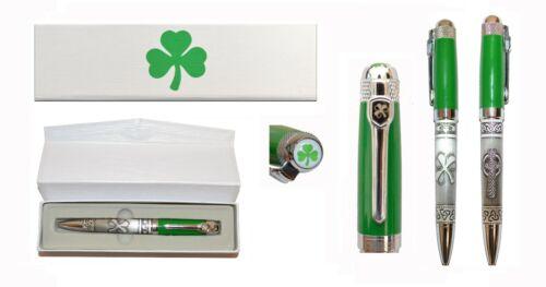 great gift Irish Ballpoint Pen in Gift box Celtic-Clover-Elegant Pen