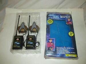 Star-Trek-the-Next-Generation-Communicator-Walkie-Talkie-Set-In-Box