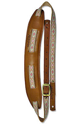 Souldier Leather Saddle Guitar Strap - Anouk