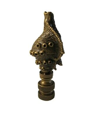 Lamp Finial-MODERN WOMAN-Aged Brass Finish Highly detailed metal casting