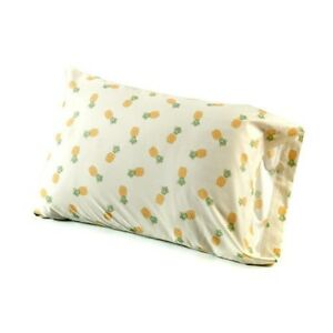 ALL OVER PINEAPPLE SHEET SET FLAT FITTED PILLOWCASES KING QUEEN FULL BRAND NEW