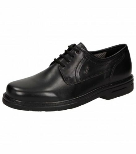 Sioux Madano-Tex Mens Black Leather Casual Shoes  RRP £130