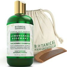 BOTANICAL HAIR GROWTH LAB - Hair Thickening Shampoo - Lemongrass & Rosemary