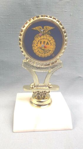 FFA agricultural education  Award trophy award cast metal marble base