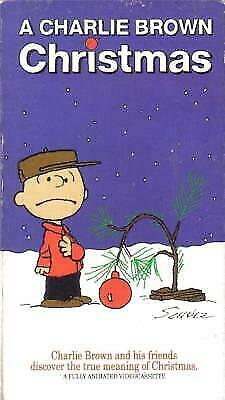 A Charlie Brown Christmas Vhs.A Charlie Brown Christmas Vhs For Sale Online Ebay