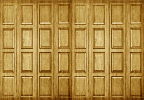Casa de muñecas de papel Pintado Madera Panel Mate Tarjeta 1//12th o 1//24th wp02