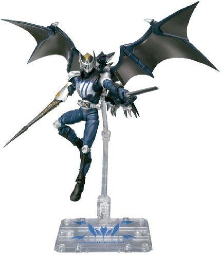 BANDAI SH S.H.Figuarts Kamen Rider Knight&Dark Wing(MaskedRyuki) JAPAN F/S J6474