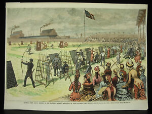 Illinois-First-Annual-Meeting-Of-The-National-Archery-Association-Chicago-1879