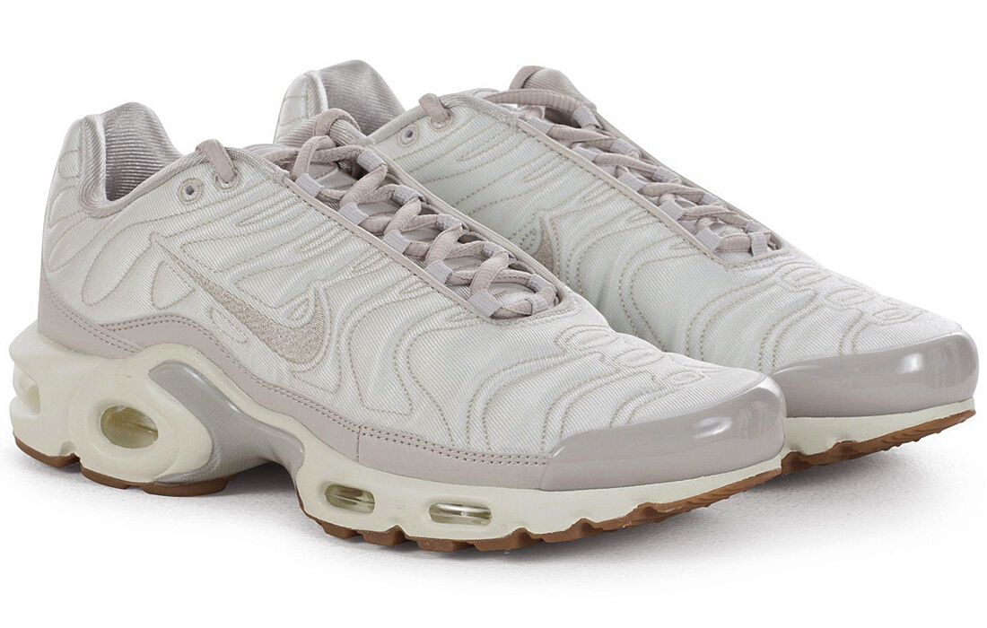 NIKE AIR MAX PLUS TN TUNED PREMIUM PRM SATIN LIGHT BONE Gr.36,5-40 848891-002 95