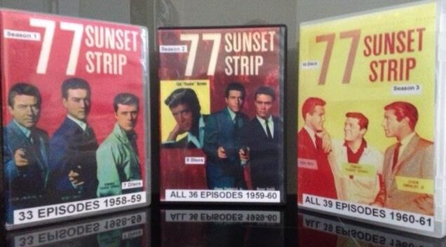77 Sunset Strip - Seasons 1-3 DVD (25 Discs) 108 Episodes - All Regions