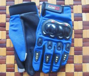 New Pro biker Motor Gloves Full Finger Armor Riding Racing Motocros Touch Screen