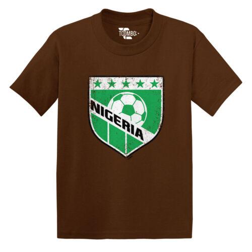Nigeria Soccer Football Futbal Club Team Sports Toddler//Infant T-shirt