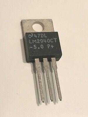 MC7805CT Marked 7805CT On Semi LDO Regulator Pos 5V 1A 7805 TO-220AB  x5pcs
