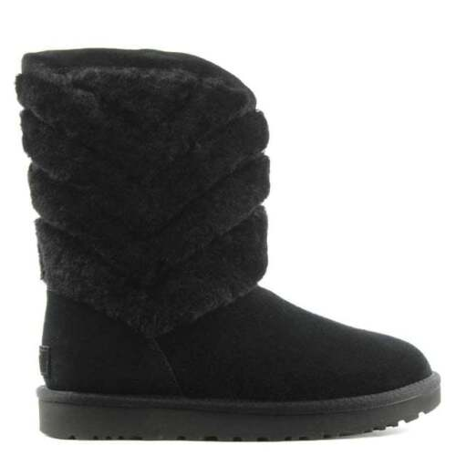 On Rrp Usa Uk Ugg® Sheepskin 5 Pull stivali 38 nero Eur £195 Tania Australia 5 7 wq6XBU