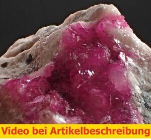 7340 Cobaltoan calcite ca 4*8*3 cm Kunfanda Kolwezi Zaire  MOVIE