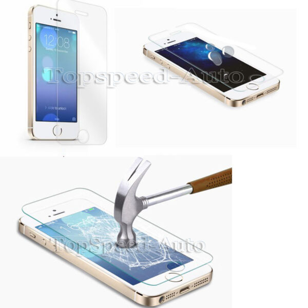 Premium HD Tempered Glass Screen Protector for Apple iphone 6 4.7 & 5.5 Plus 5S