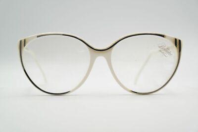 Affidabile Vintage Colonia Ottica 028/233 58 [] 16 140 Bianco Nero Ovale Occhiali Eyeglasses Nos-mostra Il Titolo Originale
