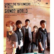 SHINEE 1st CONCERT DVD [ SHINEE WORLD  ] 2 DVD+PHOTO BOOK