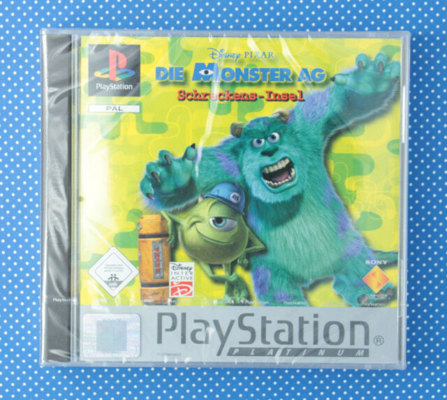 Die Monster AG: Schreckens-Insel (Sony PlayStation 1, 2002) *NEU* *NEW*