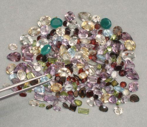 Echte gemischte Edelsteine ca 10 Carat Top Schnäppchen