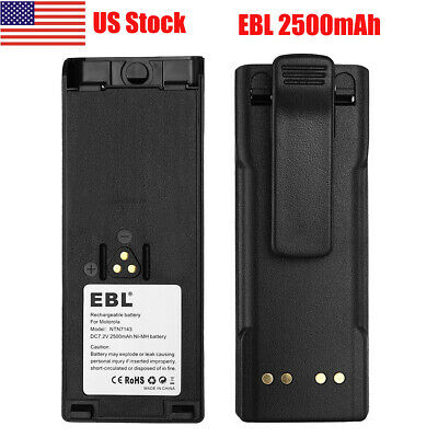 2x NTN7143 NTN7144 Ni-MH Battery for MOTOROLA HT1000 HT6000 MTS2000 MT2000 Radio