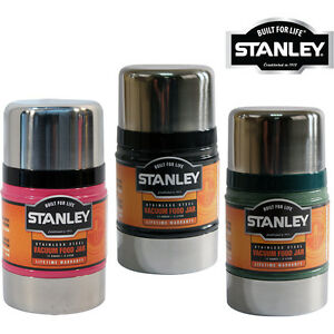 NEW-0-5L-STANLEY-CLASSIC-VACUUM-FOOD-JAR-FLASK-STAINLESS-STEEL-HOT-COLD-THERMOS